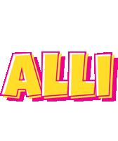 Alli kaboom logo