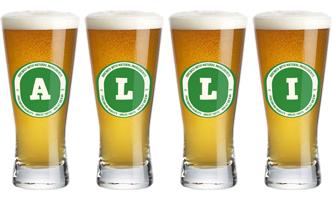 Alli lager logo