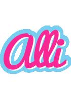 Alli popstar logo