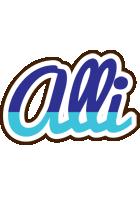Alli raining logo