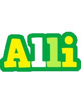 Alli soccer logo