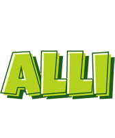 Alli summer logo