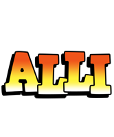 Alli sunset logo