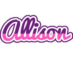 Allison cheerful logo