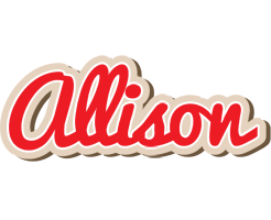 Allison chocolate logo