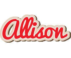 Allison chocolate logo