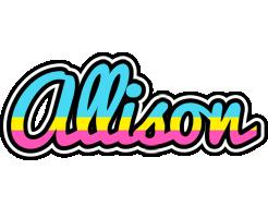 Allison circus logo