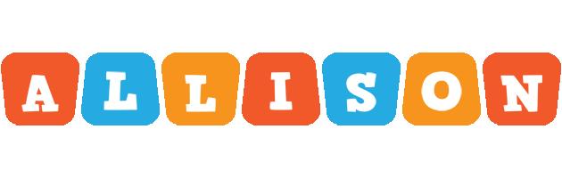 Allison comics logo