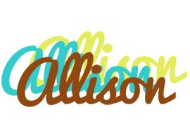 Allison cupcake logo