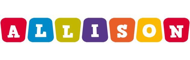 Allison daycare logo