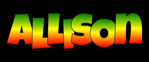 Allison mango logo