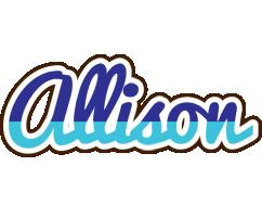 Allison raining logo