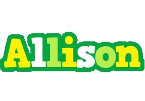 Allison soccer logo