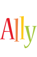 Ally birthday logo