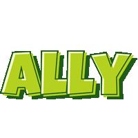 Ally summer logo