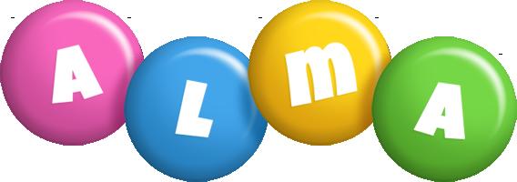 Alma candy logo