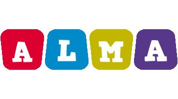 Alma kiddo logo
