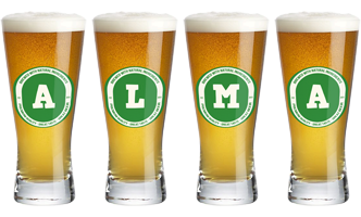 Alma lager logo
