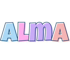 Alma pastel logo