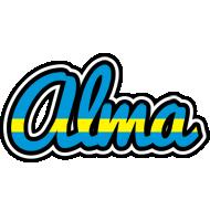 Alma sweden logo