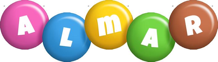Almar candy logo