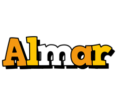 Almar cartoon logo