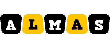 Almas boots logo