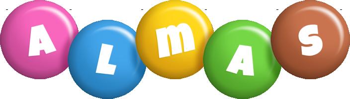 Almas candy logo