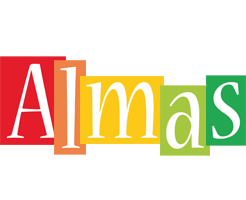 Almas colors logo