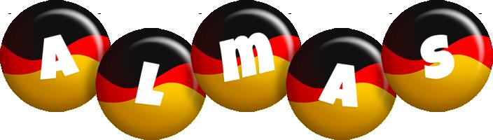 Almas german logo