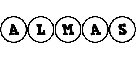 Almas handy logo