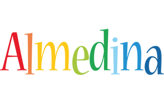 Almedina birthday logo