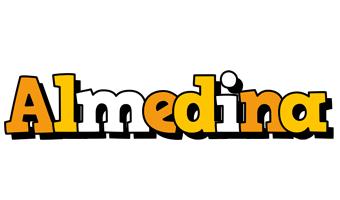 Almedina cartoon logo