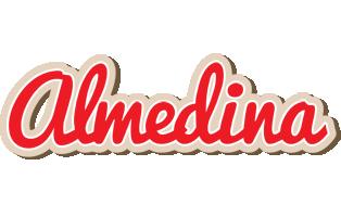 Almedina chocolate logo