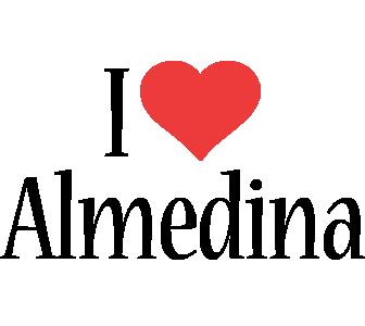 Almedina i-love logo