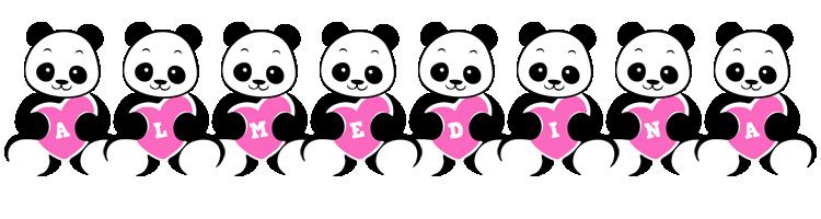 Almedina love-panda logo