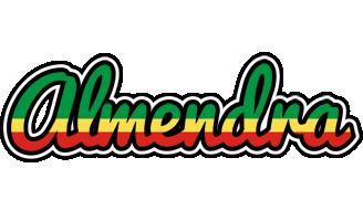 Almendra african logo