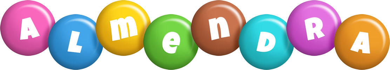 Almendra candy logo