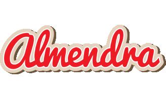 Almendra chocolate logo