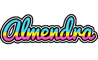 Almendra circus logo