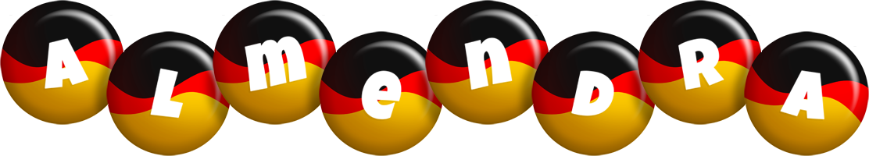 Almendra german logo