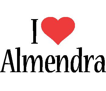 Almendra i-love logo