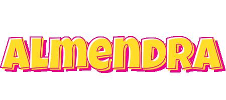 Almendra kaboom logo