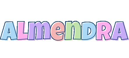 Almendra pastel logo