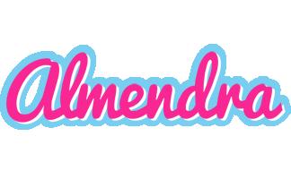 Almendra popstar logo