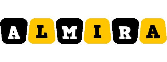 Almira boots logo