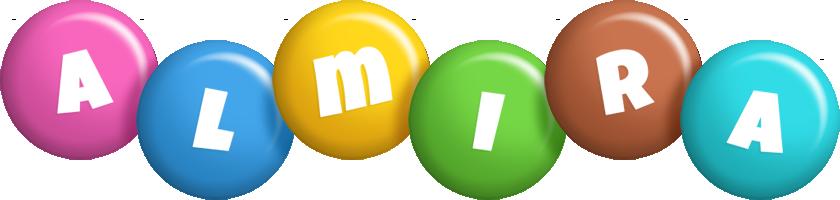 Almira candy logo