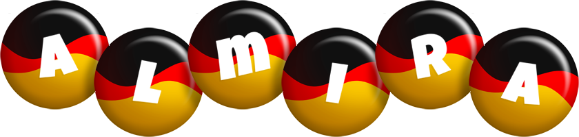 Almira german logo