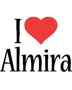 Almira i-love logo