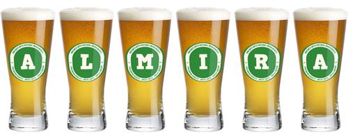 Almira lager logo
